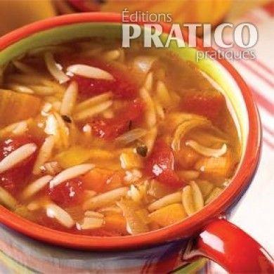 Soupe de tomate et orzo - Recettes - Cuisine et nutrition - Pratico Pratique