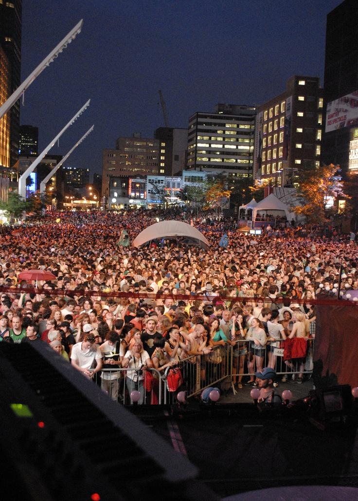 The Festival International de Jazz de Montral (English: Montreal International Jazz Festival) is an annual jazz festival held in Montreal, Quebec, Canada. Festival de Jazz de Montréal