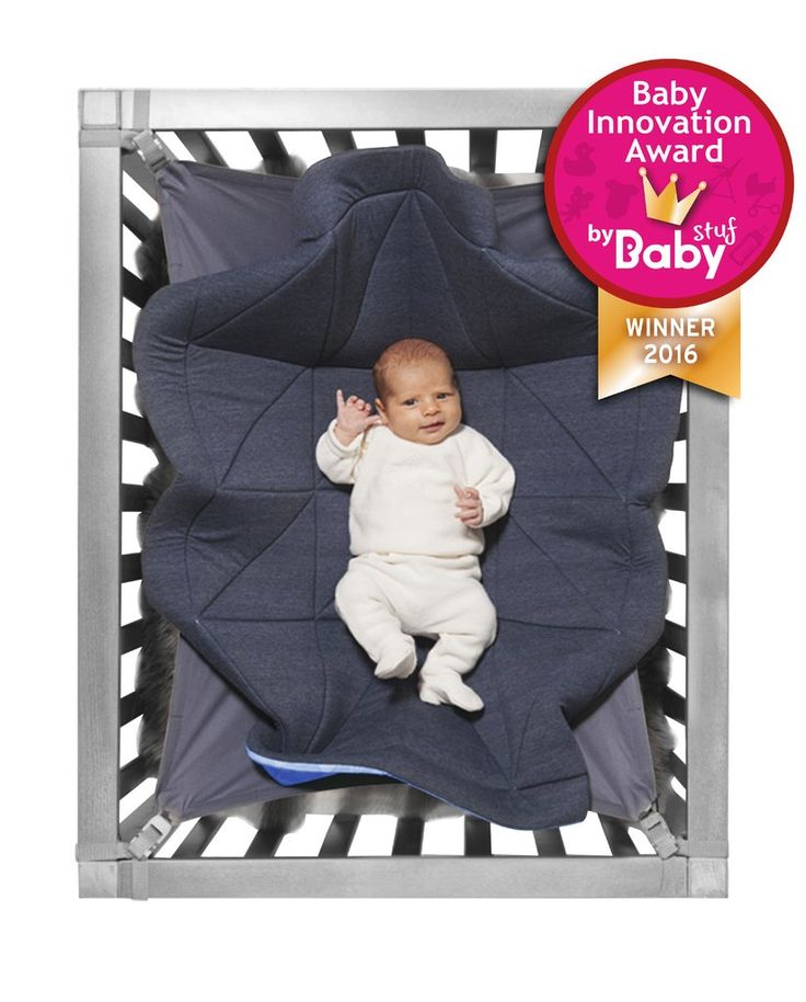 Hangloose baby hangmat/boxkleed Dark heather grey