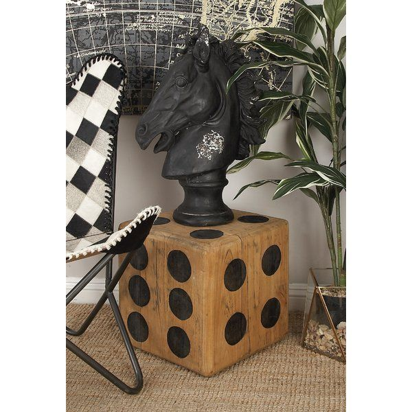 You'll love the Teak Wood Dice Accent Stool at Wayfair - Great Deals on all Furniture products with Free Shipping on most stuff, even the big stuff.