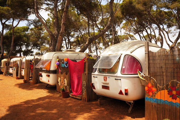 "IBIZA: For the true Hippy experience..""Camping LaPlaya"", beautifull sunsets, morning yoga and so on.."