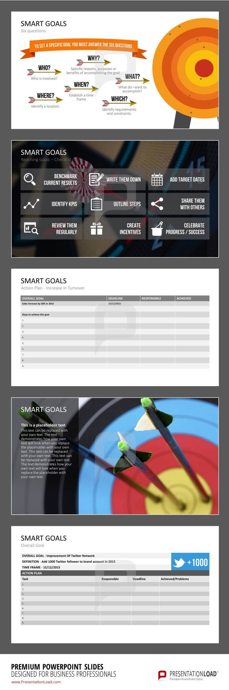 70 best smart goals powerpoint templates images on pinterest smart goals smart goal templates includes definitions work sheets and checklists for a successful project planning smart goals define business goals alramifo Choice Image
