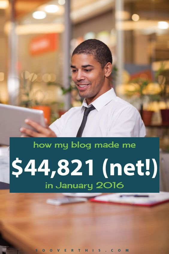 This blog income report shows Justin earning a whopping $44,821 from blogging, in a single month. I wish I could do that! I guess I need to start a blog, for it to be possible. That's more money than a lot of people I know make in a year. The best part is it's actually easy and quick to start blogging, and Justin even shows you how.