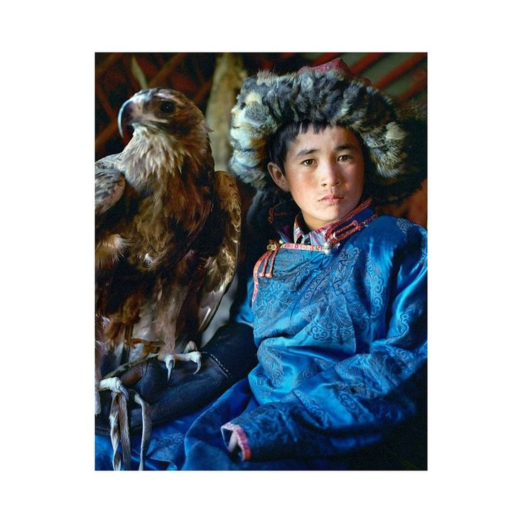 Striking photographs by John Delaney seek to document the vanishing Kazakh Nomads of Mongolia. Known also as Golden Eagle Riders for taming majestic eagles with over 7 foot wingspans, the Kazakh's nomadic way of life is in danger of being eradicated. Golden Eagle Nomads, Erbol_32 x 40
