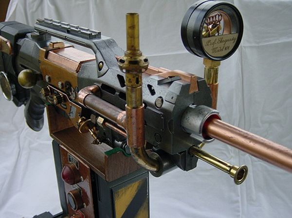Design Inspiration: 6 Steampunk Nerf Gun Mods