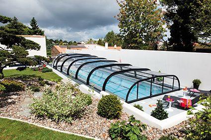 Un maximum de transparence pour protéger votre piscine. #elliptikmh