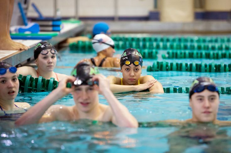 Krystal Lara is one of very few Latinas in her class at Stuyvesant High School, and in the pool. She's backstroking her way toward the Olympics.