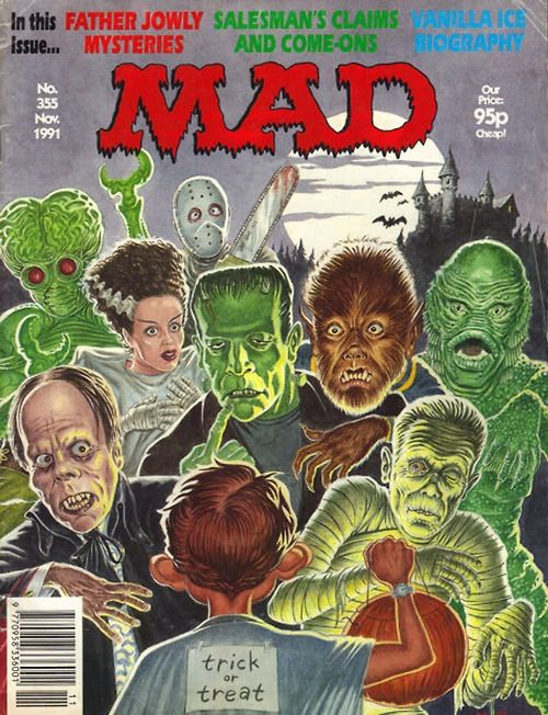 Mad Magazine, Classic Movie Monsters