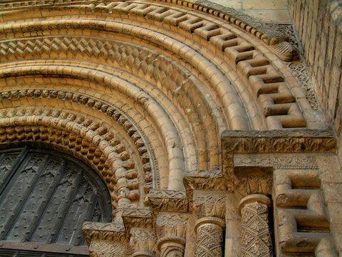 Портал собора в Линкольне. Англия.