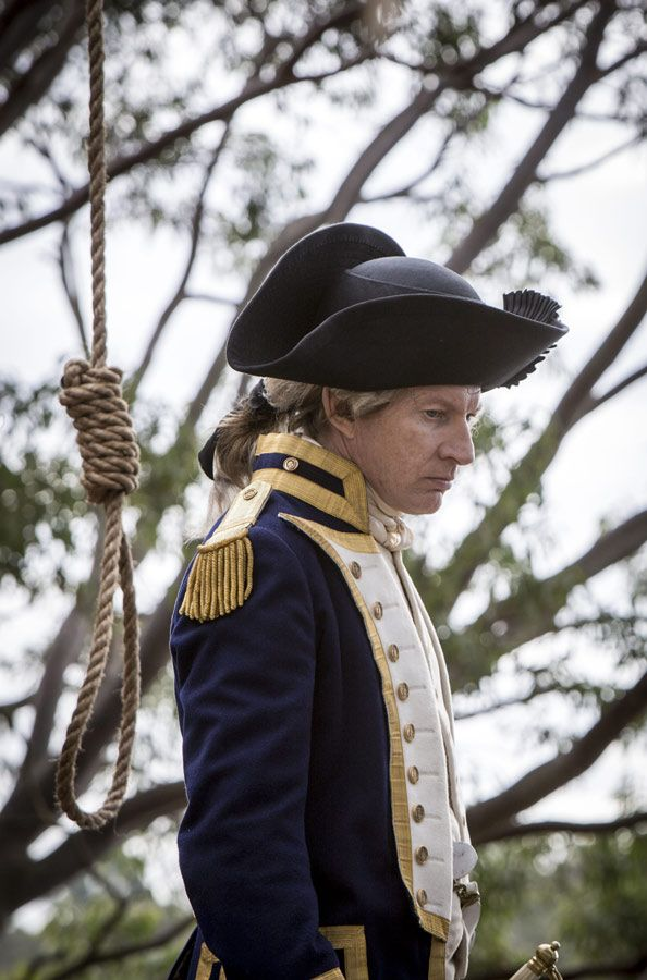 Arthur Phillip - David Wenham in Banished (BBC TV series 2015).