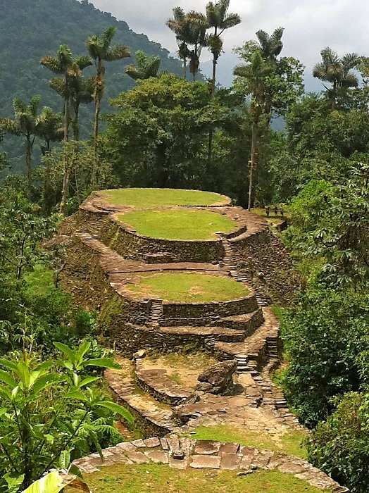 Ciudad Perdida - Lost city in Colombia. Must go here before it becomes overrun with tourists like Machu Picchu.
