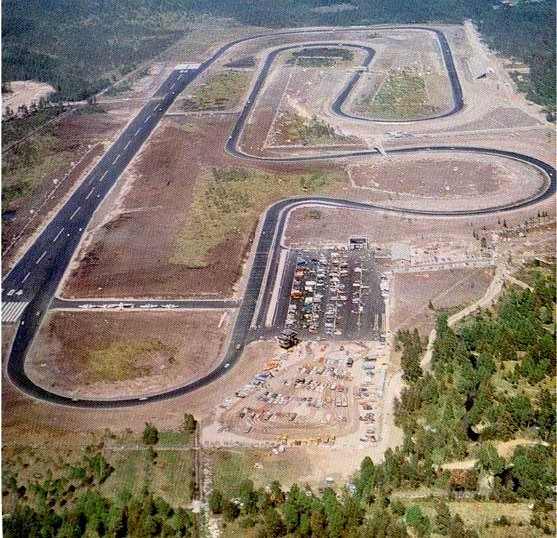 Scandinavian Raceway, Anderstorp in Sweden. Hosted the Swedish GP in Formula 1 from 1973 until 1978.