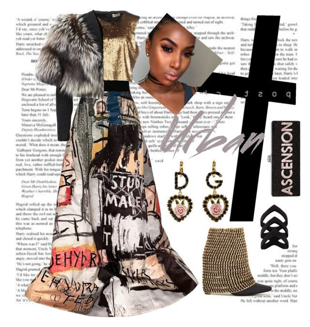 """Urban Ascension"" by monicalyn on Polyvore featuring Spineless Classics, Alice + Olivia, Nineminutes, Lolita Lempicka and Dolce&Gabbana"