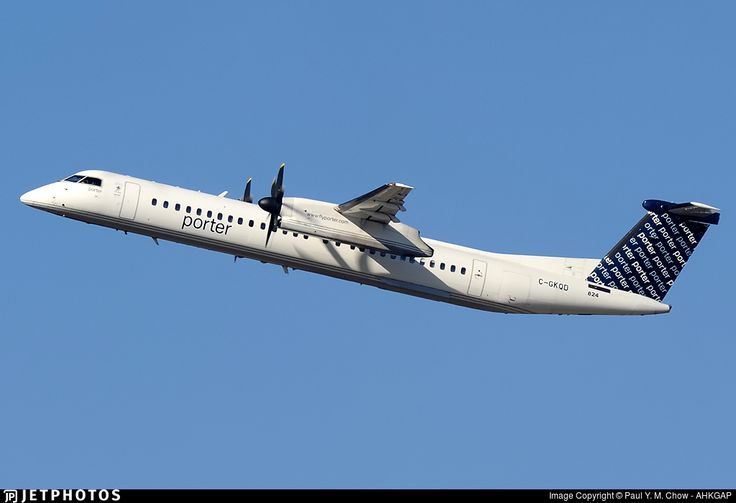 Photo of C-GKQD - Bombardier Dash 8-Q402 - Porter Airlines