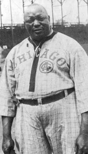 """Andrew """"Rube"""" Foster, perhaps the best African-American pitcher of the first decade of the 1900s.  Most notably, he was one of the co-founders of the Negro National League in 1920."""