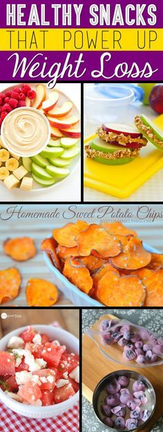 30 Easy Healthy Snacks That Power Up Weight Loss