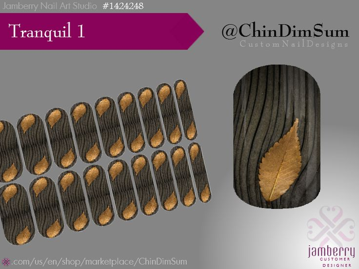 Gray grain, golden elm, tranquility on nails. Jamberry custom.  Order (with inner peace): https://www.jamberry.com/us/en/shop/products/nas-1424248?originUri=pinterest.com/ruthchin/chindimsum/