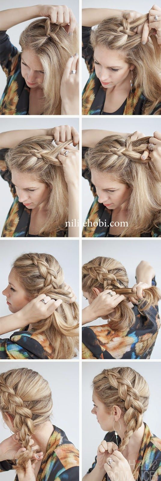 5 Dakikada Yapılabilecek Pratik Şık Saç Modelleri
