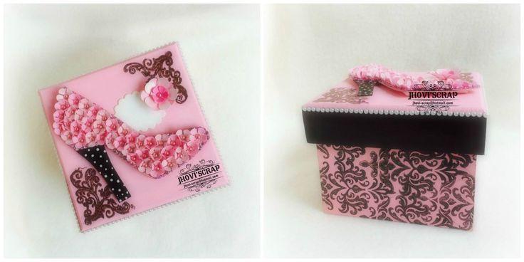 caja zapatilla