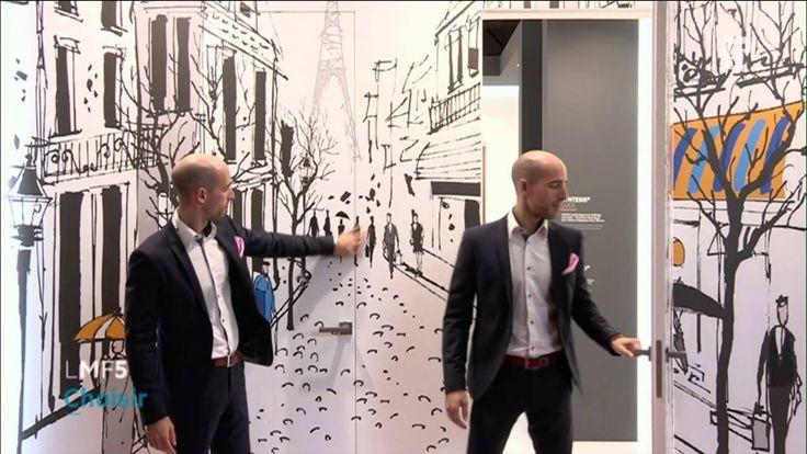 Découvrez les portes d'intérieur Syntesis® dans le reportage de la Maison France 5. #deco #architecture