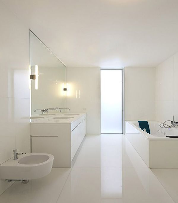 Minimalist Bathroom Pinterest: Best 25+ White Minimalist Bathrooms Ideas On Pinterest
