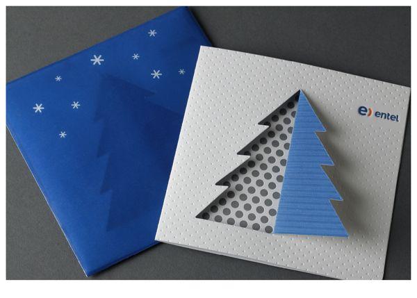 Entel Christmas Card by Labdiseño Chile, via Behance