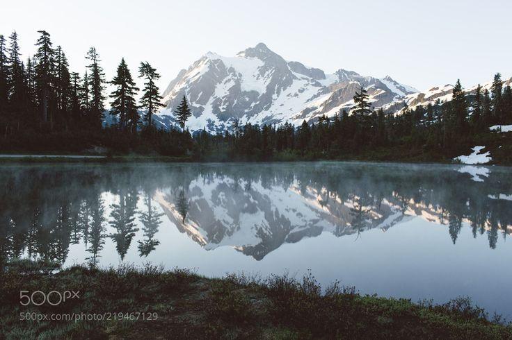 Mt Baker (Hunter Reilly / Vancouver, British Columbia / Canada) #Canon IXUS 125 HS #landscape #photo #nature