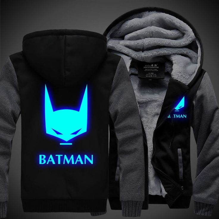 Limited Edition Batman Luminous Hoodies