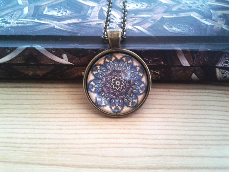 Mandala a barna árnyalataiban (mandala, jewerly, vintage, fashion, DIY)
