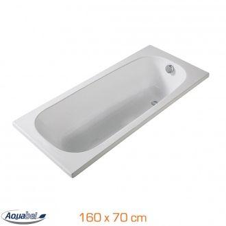 Baignoire droite à encastrer IBIZA - 160 x 70 cm