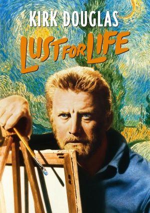 """*""""LUST for LIFE """", movie dvd cover ~ Kirk Douglas"""