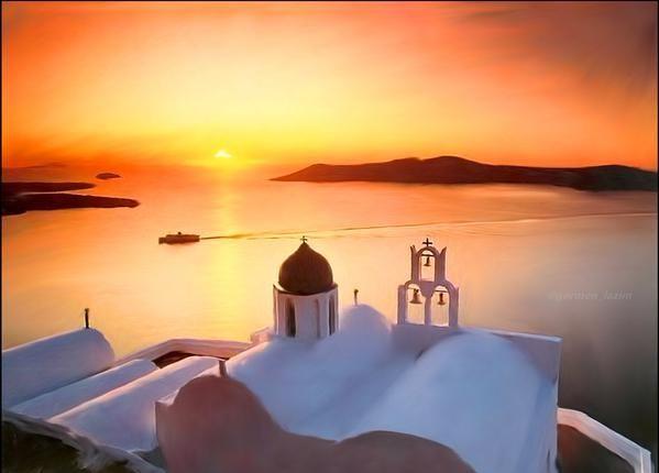 Yunanistan,Santorini