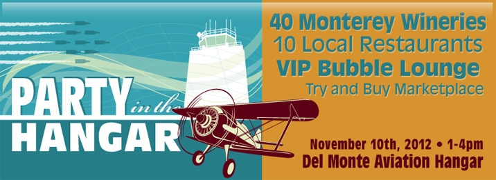 Don't miss this fall-season afternoon soirée in a 20,000 square foot airplane hangar! Meet the winemakers and chefs of Monterey County at this fabulous post-harvest food and wine party.