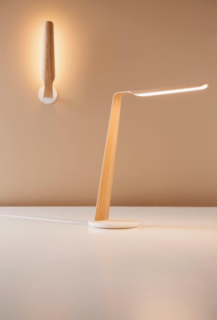 Tunto Design Swan series: These lamps are the latest evidence in Tunto's renowned skills in working with wooden materials.