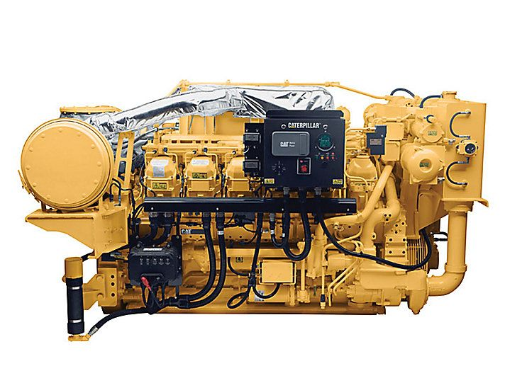 Cat 3512c Propulsion Engine Imo Ii Caterpillar Caterpillar Engines Engineering Caterpillar