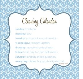 25 best ideas about cleaning calendar on pinterest household cleaning schedule cleaning. Black Bedroom Furniture Sets. Home Design Ideas