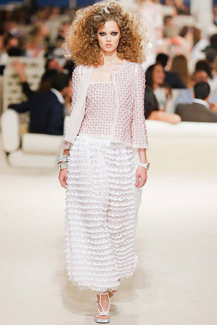 Chanel Resort 2015 Fashion Show - Lindsey Wixson