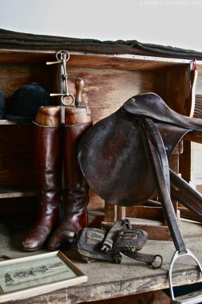 Boots, English saddle