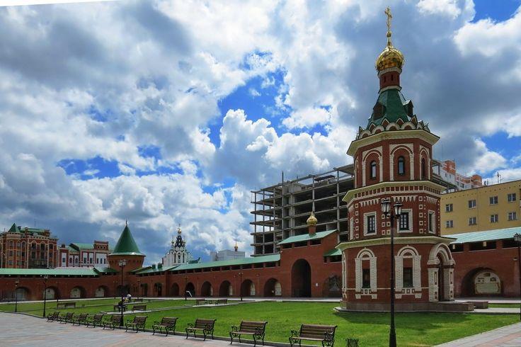 Царевококшайский кремль, Йошкар-Ола, Марий-Эл, часовня