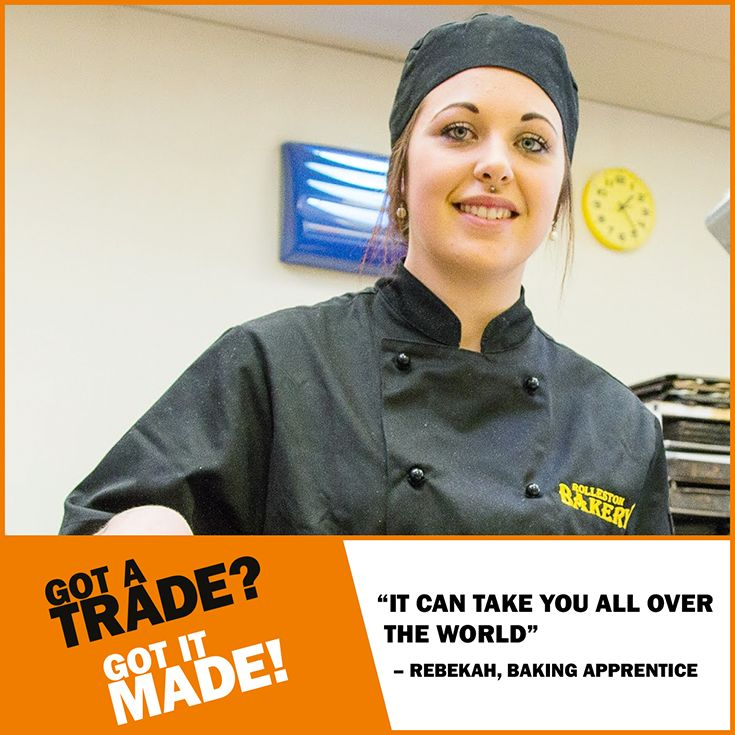 A #trade qualification can open doors for you around the world. See how Rebekah's #GotItMade. https://www.youtube.com/watch?v=C9x66E_QXhw