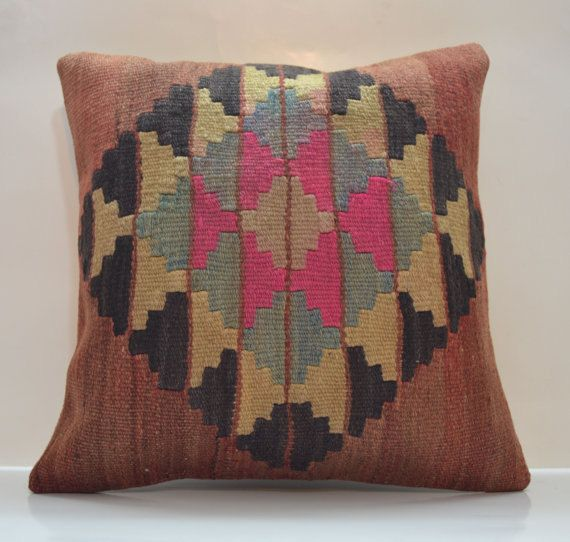 Hey, I found this really awesome Etsy listing at https://www.etsy.com/listing/184428781/kilim-pillow-decorative-pillows-ethnic