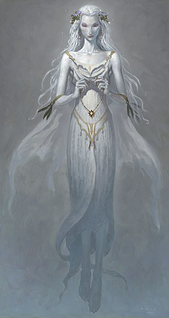 "The Lady of the Lake from ""The Child Theif"" by Brom"