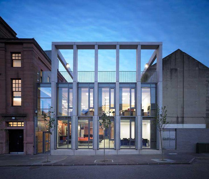 Elder & Cannon Architects + Shettleston Housing Association Offices, Glasgow, Scotland  2010