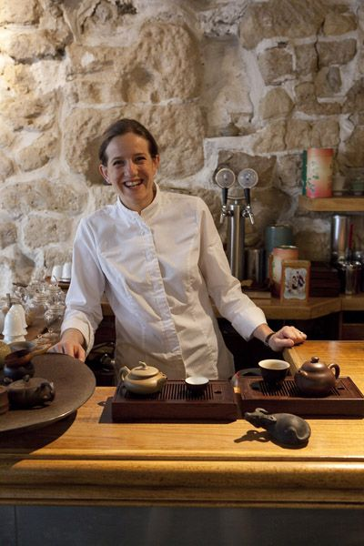 Chef Adeline Grattard combines French and Chinese cuisine fearlessly.  Yam'tcha 4 Rue Sauval 75001 Paris Tél : + 33 1 40 26 08 07