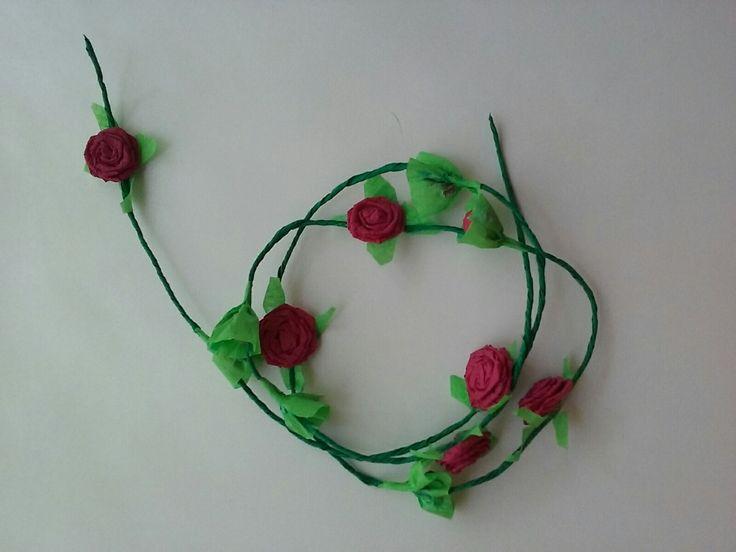 Ghirlanda de trandafiri -bordo