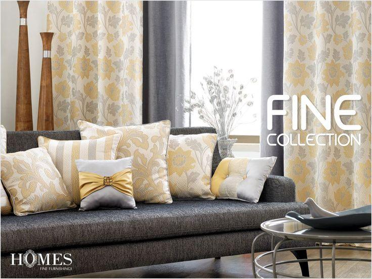 Soft & subtle creations from smooth #Fabrics. Give your #Home an innovative look with #HomesFurnishings. Explore more on www.homesfurnishings.com #HomeFabrics #Cushions #Upholstery #Furnishings #FineFabric #SaturdaySwag