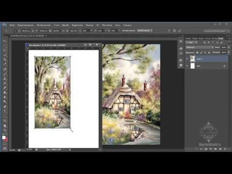 как увеличить изображение в фотошопе : изменить размер распечатки