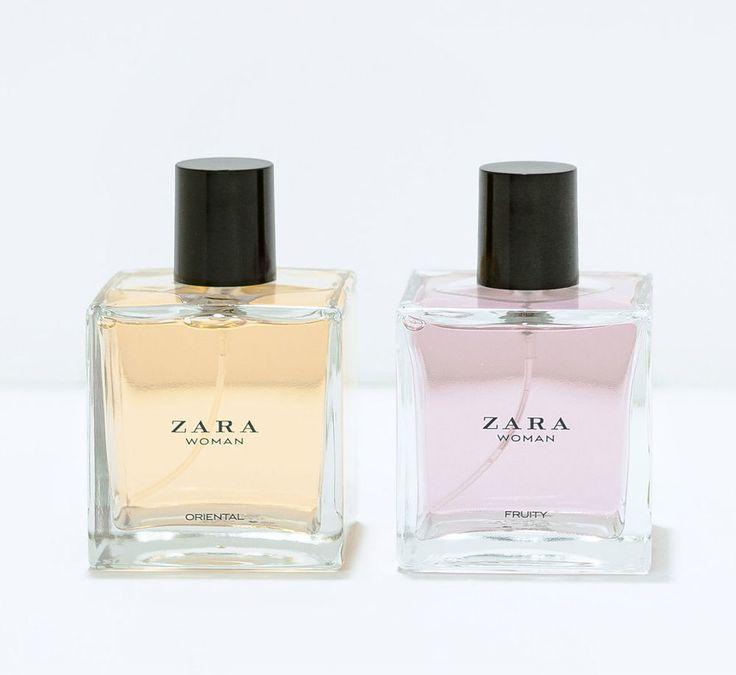 ZARA WOMAN ORIENTAL 100 ML & ZARA WOMAN FRUITY EAU DE TOILETTE 100 ML 2 bottles