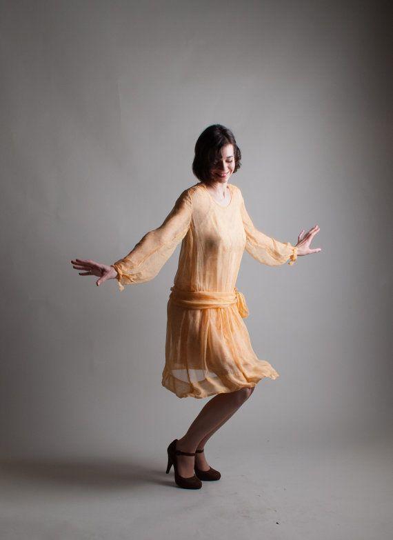 Sheer 20s Dress Vintage 1920s Fler Dainty Mae 20 S Fashion Pinterest Dresses And Chiffon