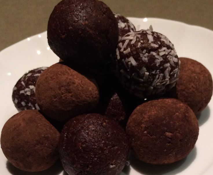 Recipe Choc Mint Protein Bombs by AJSollorz - Recipe of category Baking - sweet